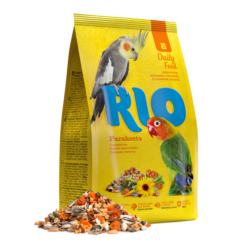 RIO - Food For Parakeets Daily Ration