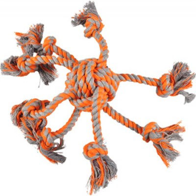 Flamingo – James Octopus Orange Knotted Ball