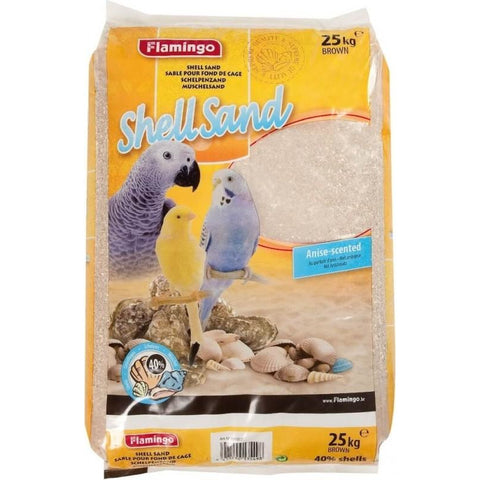 Flamingo – Bird Shell Sand Brown 25Kg