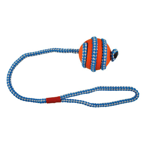 Imac - Toy For Dogs Rubber Ball With Rope 5cm - zoofast-shop