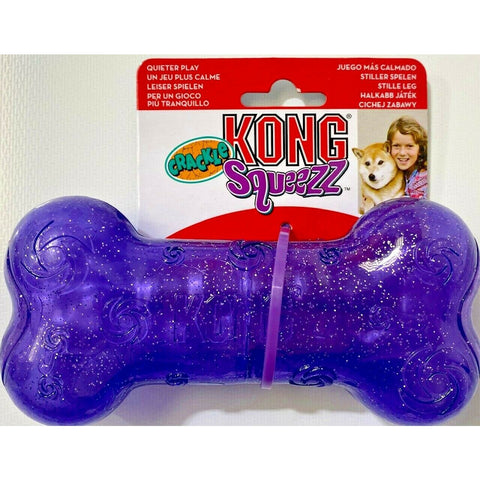KONG - Squeezz Crackle Bone Medium