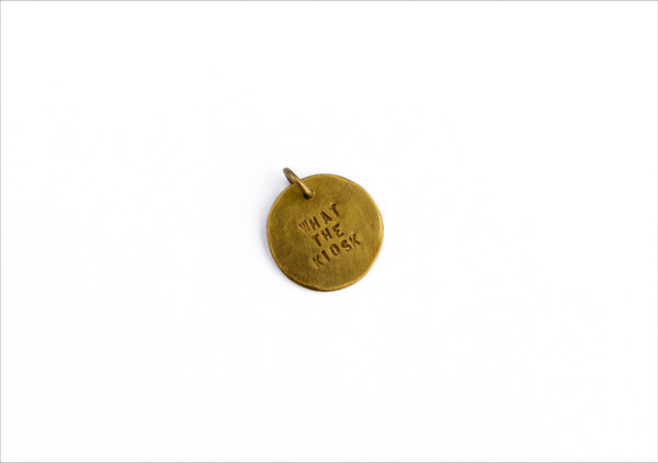 Lettered Pendant - What the Kiosk