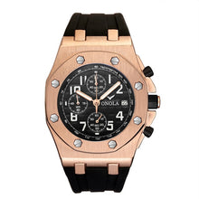 Load image into Gallery viewer, 2019 ONOLA Luxury brand Fashion Sports Military Mens Watches Wristwatch clock metal Waterproof multifunctional quartz watch Men