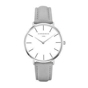 CHRONOS Brand Fashion Women Stainless Steel Bracelet Wristwatches Ladies Dress Watches Clock Casual Quartz Watch Montre Femme