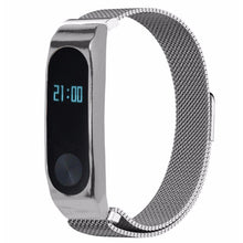 Load image into Gallery viewer, CRESTED Milanese Loop for xiaomi mi band 2 wrist strap Magnetic buckle Link Bracelet for xiaomi mi band2 wrist band Bracelets