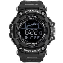 Load image into Gallery viewer, Mens Watch Military Water resistant SMAEL Sport watch Army led Digital wrist Stopwatches for male 1802 relogio masculino Watches