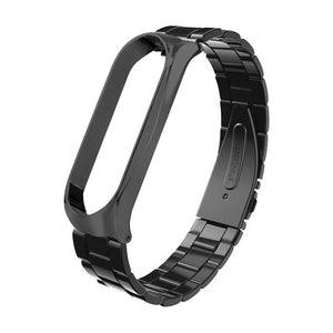 Miband4 Stainless Steel Metal Strap For Xiaomi Mi Band 4 Bracelet Wristband Mi Band 4 Strap Smart Watch Belt For Xiaomi Miband 4