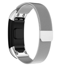 Load image into Gallery viewer, Milanese Loop Bracelet Stainless Steel band For Garmin VIVOsmart HR Smart Watch Bracelet Strap For VIVOsmart HR 16mm *230mm