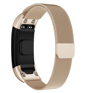 Milanese Loop Bracelet Stainless Steel band For Garmin VIVOsmart HR Smart Watch Bracelet Strap For VIVOsmart HR 16mm *230mm