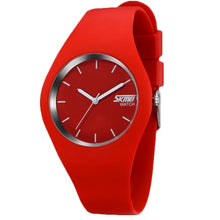 Load image into Gallery viewer, Quartz Sport Watches Men And Women Fashion Casual Quartz-watch Student Silicone Jelly Watch For Girls Boys Relogio Masculino