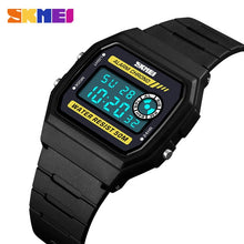 Load image into Gallery viewer, Top Brand Watches Men Square Date LED Digital Women Sports Watch EL Back Chrono Wristwatch Waterproof Relogio Masculino SKMEI