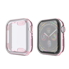 Load image into Gallery viewer, Watch Cover case For Apple Watch series 5 4 3 2 1 band case 42mm 38m 40mm 44mm Slim TPU case Protector for iWatch 4 44mm