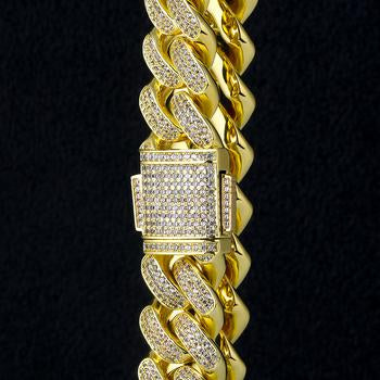 Cuban Miami Link 18MM Full Iced Out