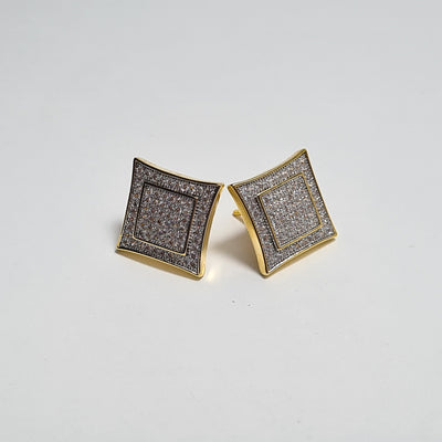 Iced Out Cubic Earrings