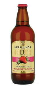 Herrljunga Strawberry & Vanilla Cider ~ 500ml Bottles