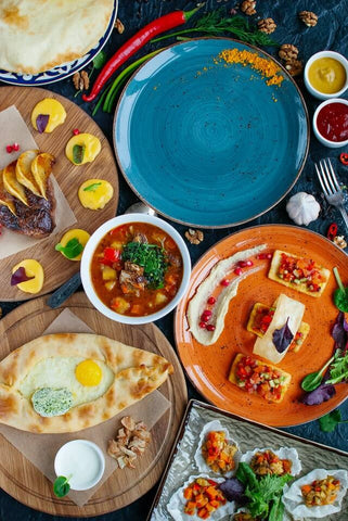 Array of Mexican Foods for gathering