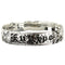 925 Sterling Silver Hand Carved Kuuipo Bangles With Princess Design - 6mm to 18mm