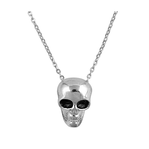 925 Sterling Silver Skull Necklace