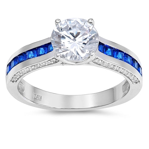 925 Sterling Silver Engagement Ring -