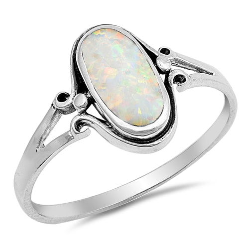 925 Sterling Silver Ring With Turquoise Inlay