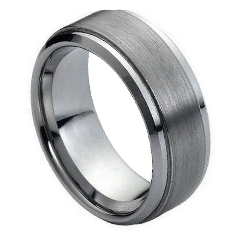 Scratch Free Tungsten Carbide Ring - 6mm, 7mm, 8mm or 9mm Width