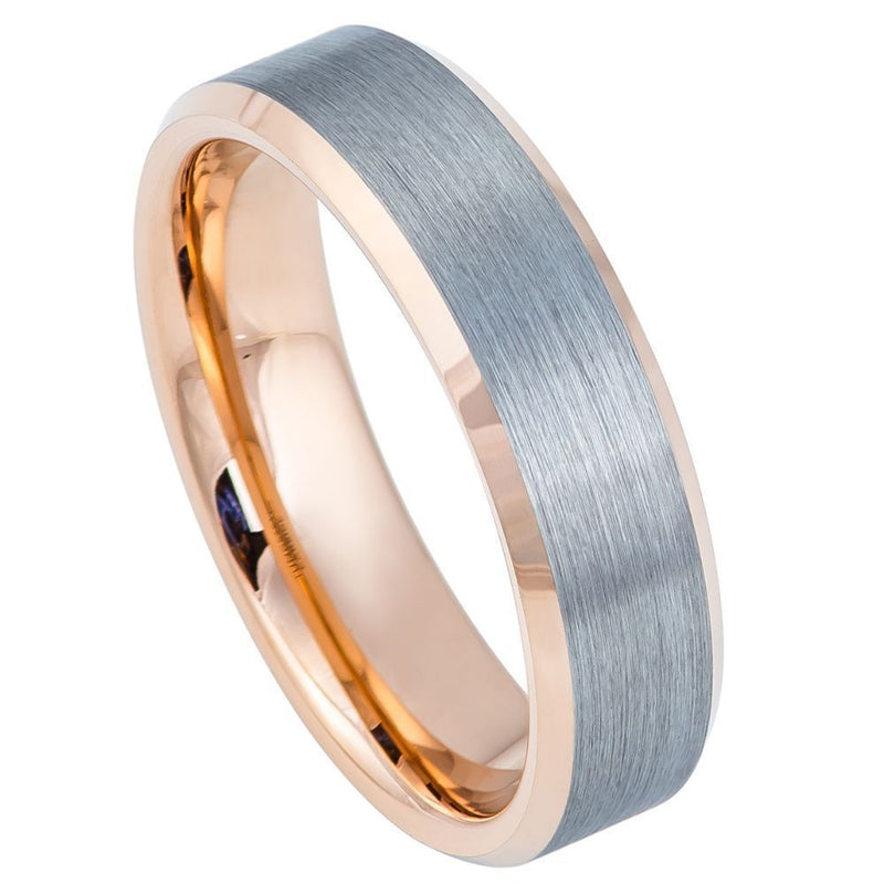 Scratch Free Tungsten Carbide Ring - 6mm or 8mm Width
