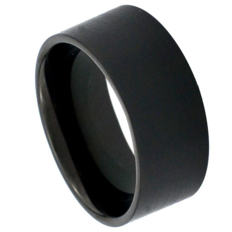 Scratch Free Tungsten Carbide Rings - 7mm Black Rhodium Plated