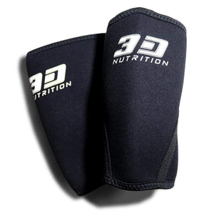 Accessories 3D Nutrition Elbow Sleeves [Black]