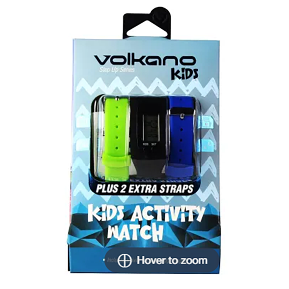 Volkano Step Up Series Kids Activity Watch + Straps