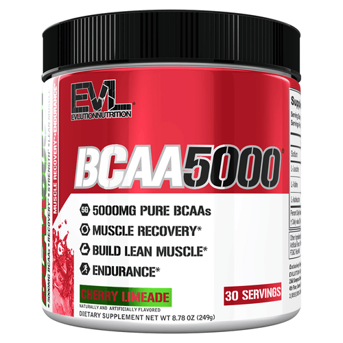 Amino Blend EVLution Nutrition BCAA 5000 [220G] - Chrome Supplements and Accessories