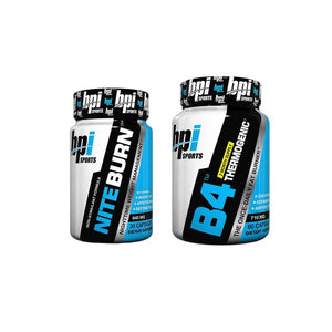 BPI B4 THERMOGENIC FAT BURNER/NITE BURN COMBO