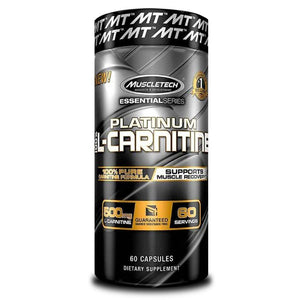 Carnitine MuscleTech Platinum L-Carnitine [60 Caps]