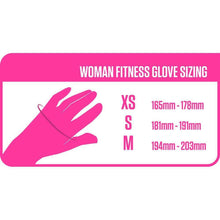 Load image into Gallery viewer, Gloves 3D Nutrition Ladies Lifting Gloves [Pink] - Chrome Supplements and Accessories