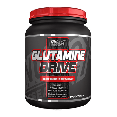 Glutamine Nutrex Glutamine Drive [1kg] - Chrome Supplements and Accessories