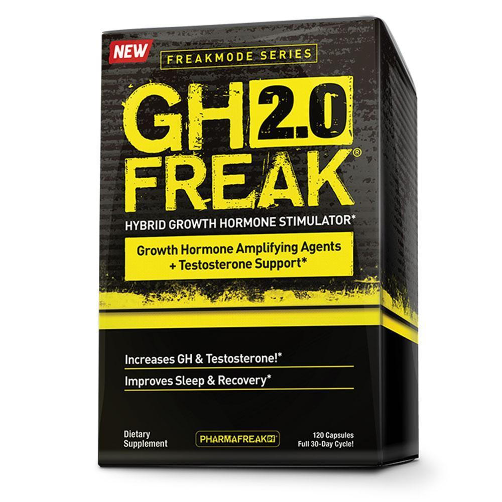 Hormone Support PharmaFreak GH Freak 2.0 [120 Caps]