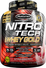 Load image into Gallery viewer, MuscleTech Nitro-Tech 100% Whey Gold [2.5KG]