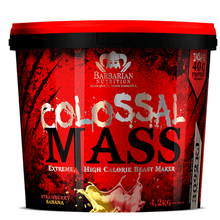Load image into Gallery viewer, Mass Gainer Barbarian Nutrition Colossal Mass [4.2kg] - Chrome Supplements and Accessories