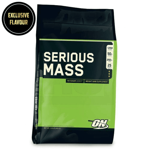 Mass Gainer Optimum Nutrition Serious Mass [5.4kg] - Chrome Supplements and Accessories