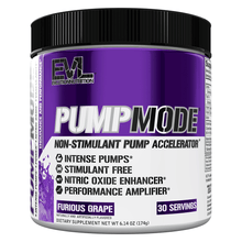 Load image into Gallery viewer, Nitric Oxide Booster EVLution Nutrition PumpMode [165g] - Chrome Supplements and Accessories