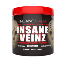 Load image into Gallery viewer, Nitric Oxide Booster Insane Labz Insane Veinz [145g] - Chrome Supplements and Accessories