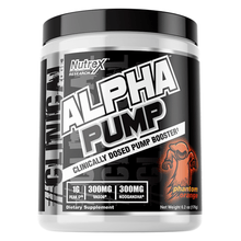 Load image into Gallery viewer, Nitric Oxide Booster Nutrex Alpha Pump [175g] - Chrome Supplements and Accessories