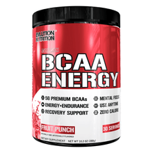 Load image into Gallery viewer, Stimulant Based Amino EVLution Nutrition BCAA Energy [270g]