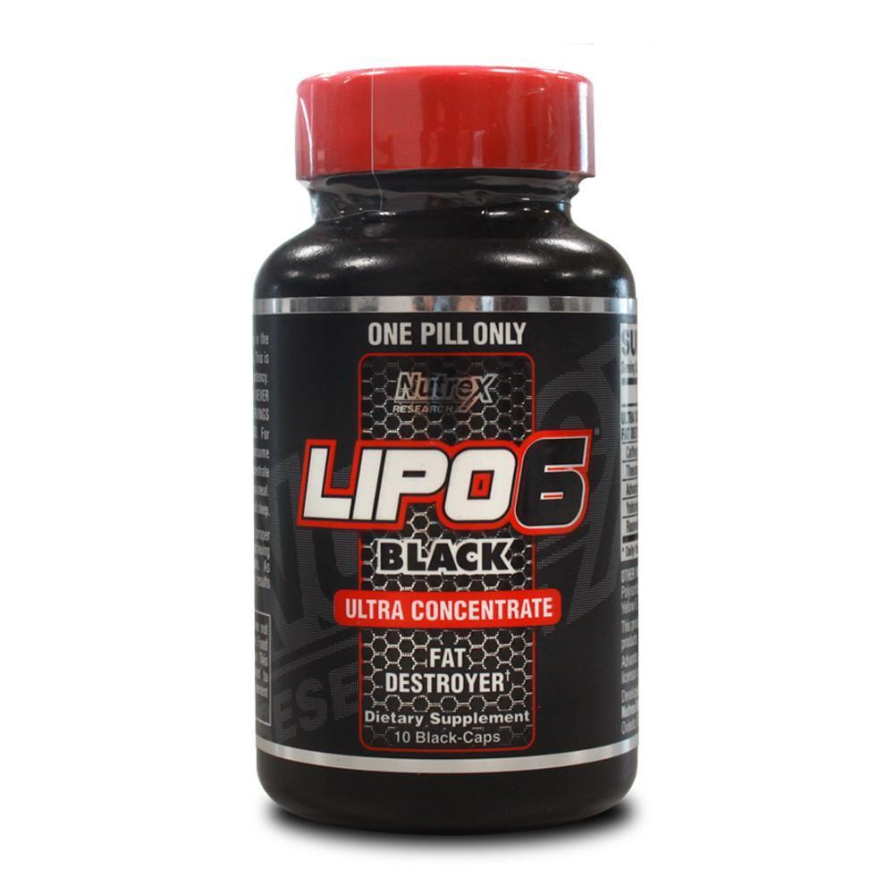 Nutrex Lipo 6 Black Ultra Concentrate [10 Caps]