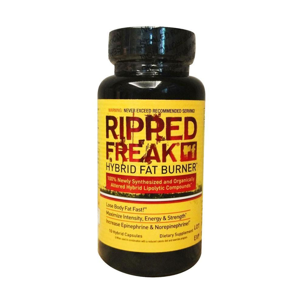 Stimulant Based Fat Burner PharmaFreak Ripped Freak [10 Caps] - Chrome Supplements and Accessories