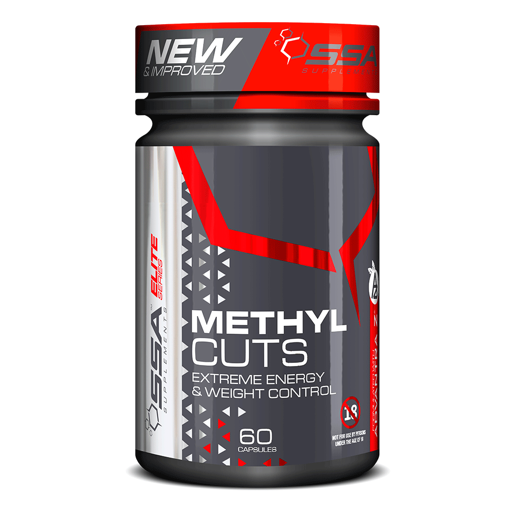Stimulant Based Fat Burner SSA Methyl Cuts [60 Caps]