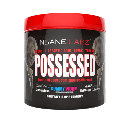 Stimulant Based Pre-Workout Insane Labz Possessed [220g] - Chrome Supplements and Accessories
