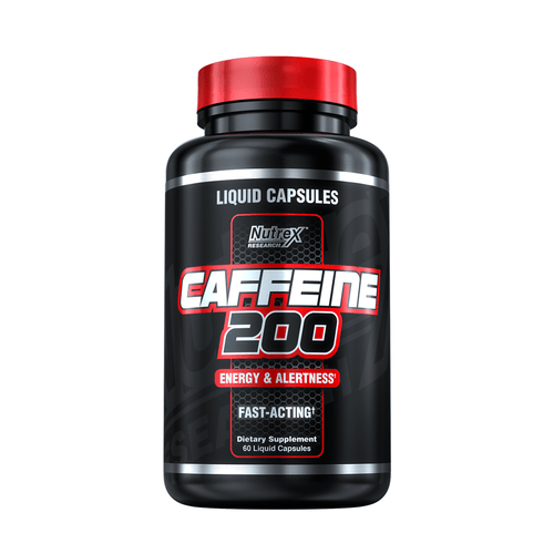 Stimulant Based Pre-Workout Nutrex Caffeine 200 [60 Caps]