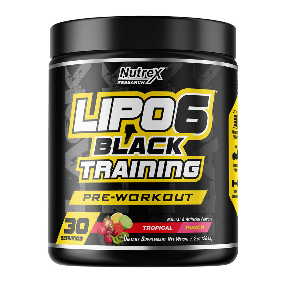 Stimulant Based Pre-Workout Nutrex Lipo 6 Black Training  [200g]