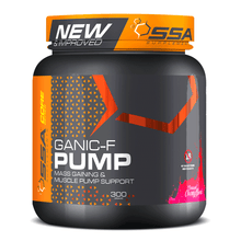 Load image into Gallery viewer, Stimulant Based Pre-Workout SSA Ganic-F Pump [300g]