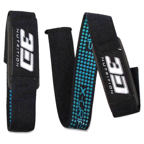 Straps 3D Nutrition Lifting Straps - Chrome Supplements and Accessories